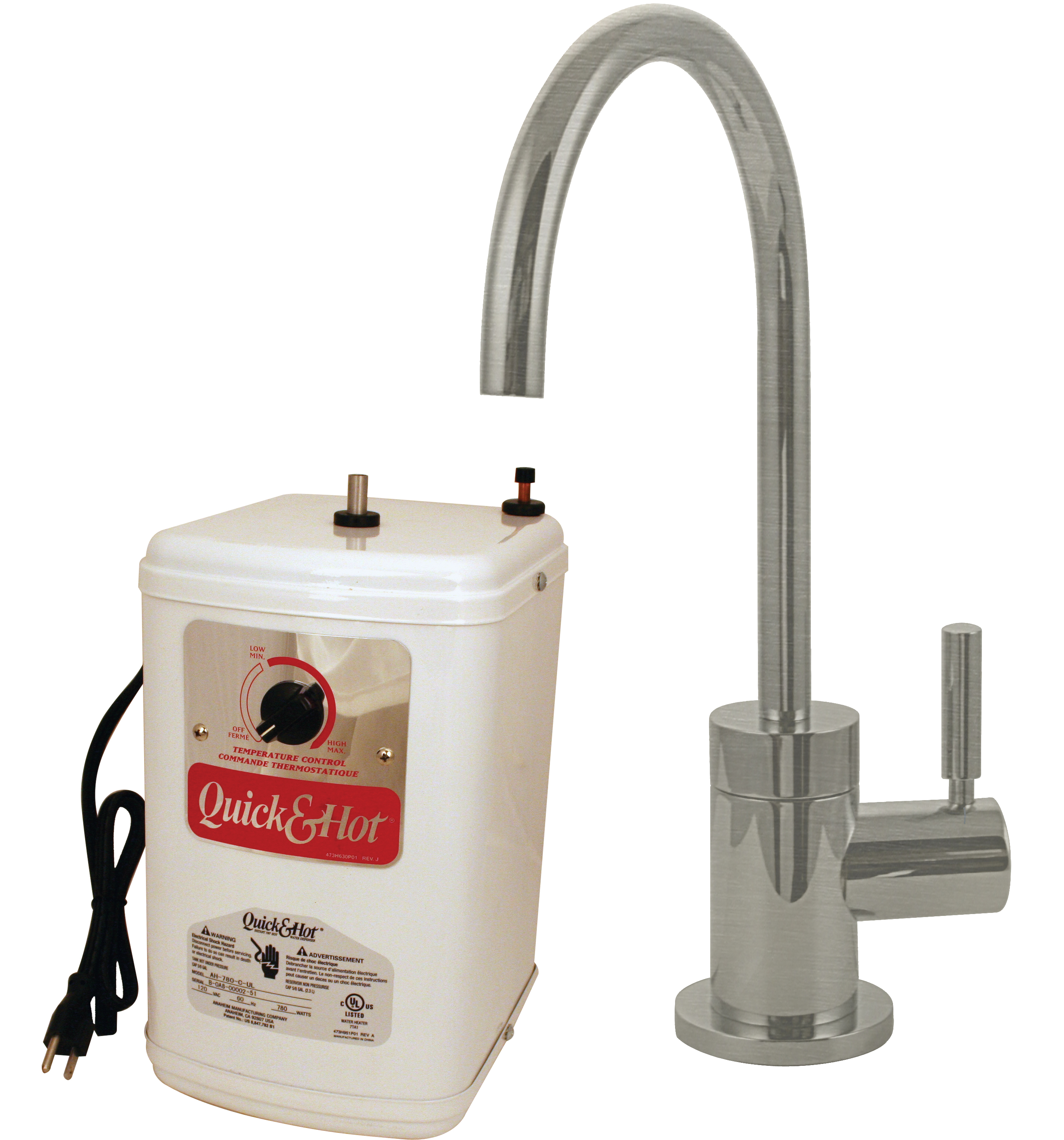 cold water filter faucet. Contemporary 1 Handle Hot And Cold Water Dispenser Faucet With Instant  Tank In Satin Nickel