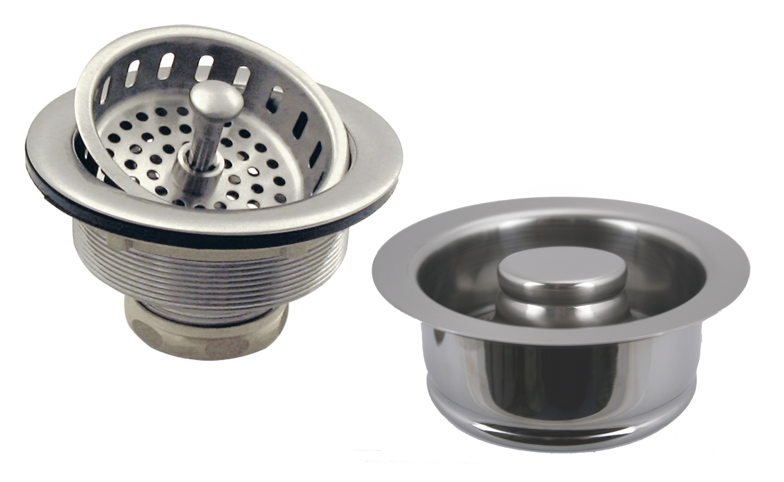 Post Style Large Kitchen Basket Strainer with